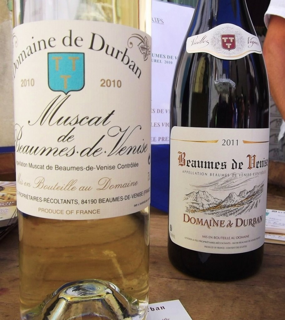 Domaine de Durban - one of the best muscats.