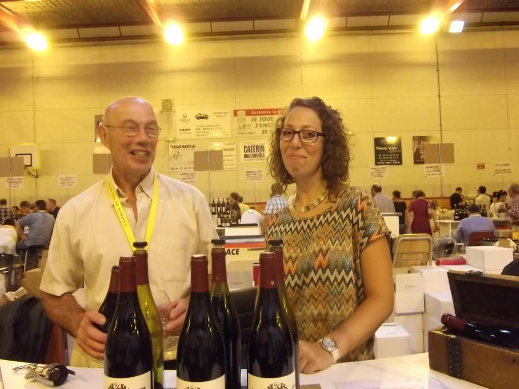 Alain and Emmanuelle Verset