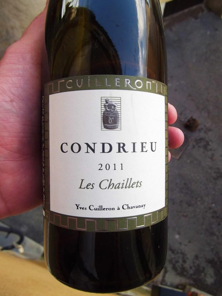 Yves Cuileron's Les Chaillets Condrieu 2011