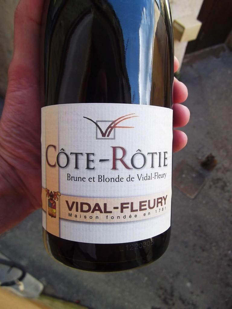 Vidal-Fleurie's Brune et Blonde Cote-Rotie 2009