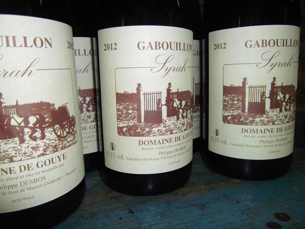 Gabouillon 2012
