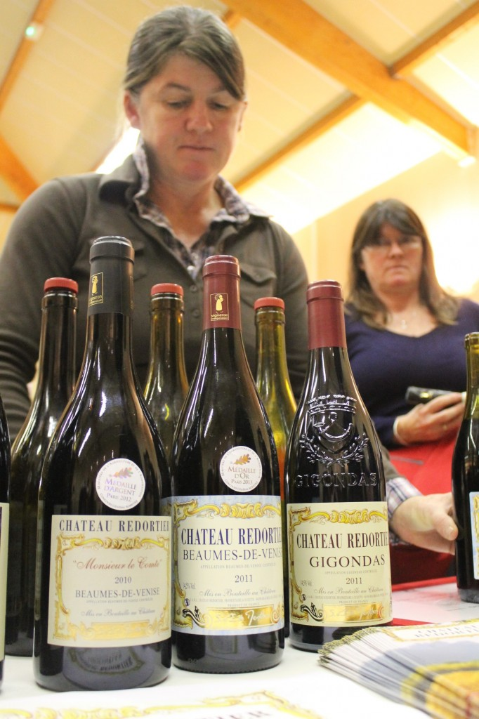 Isabelle and Sabine de Menthon and their Chateau Redortier wines.