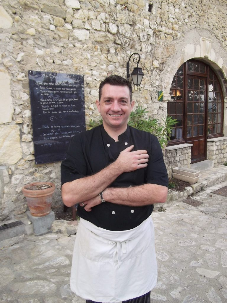 Chef and owner of La Capitelle, Sylvain Croce